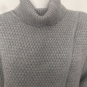 Great Northwest Indigo Gray Turtleneck Sweater